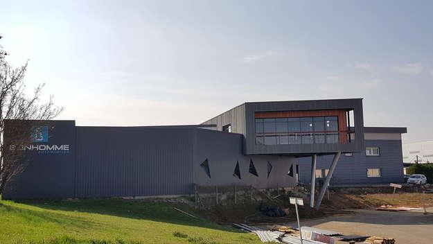 Photo de l'actualité Les travaux de la future extension des bureaux du Groupe progressent !