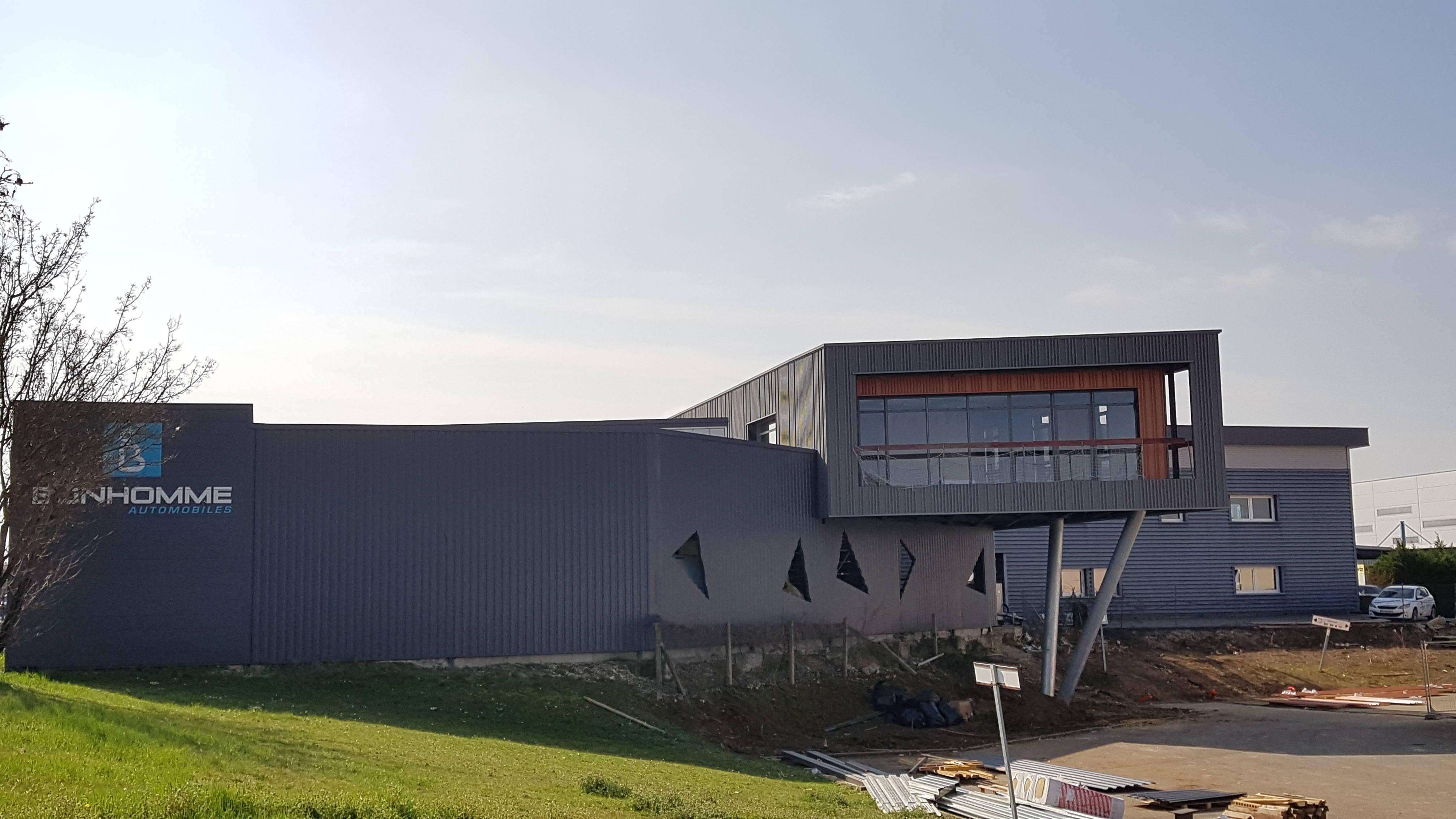 Actualité : Les travaux de la future extension des bureaux du Groupe progressent !