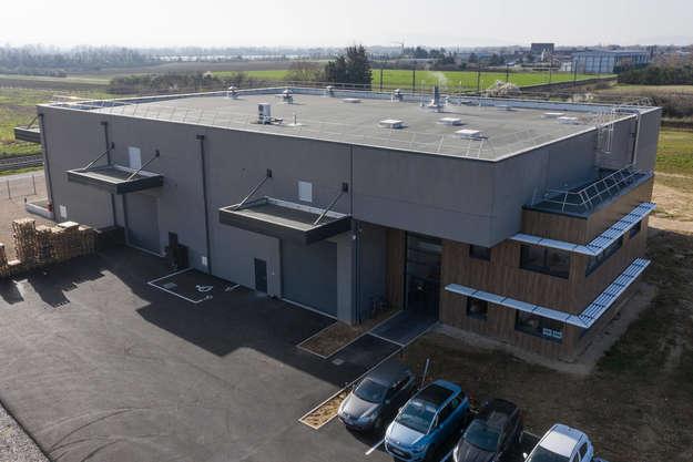 Photo de l'actualité Construction d'un bâtiment industriel à Soyons (07)