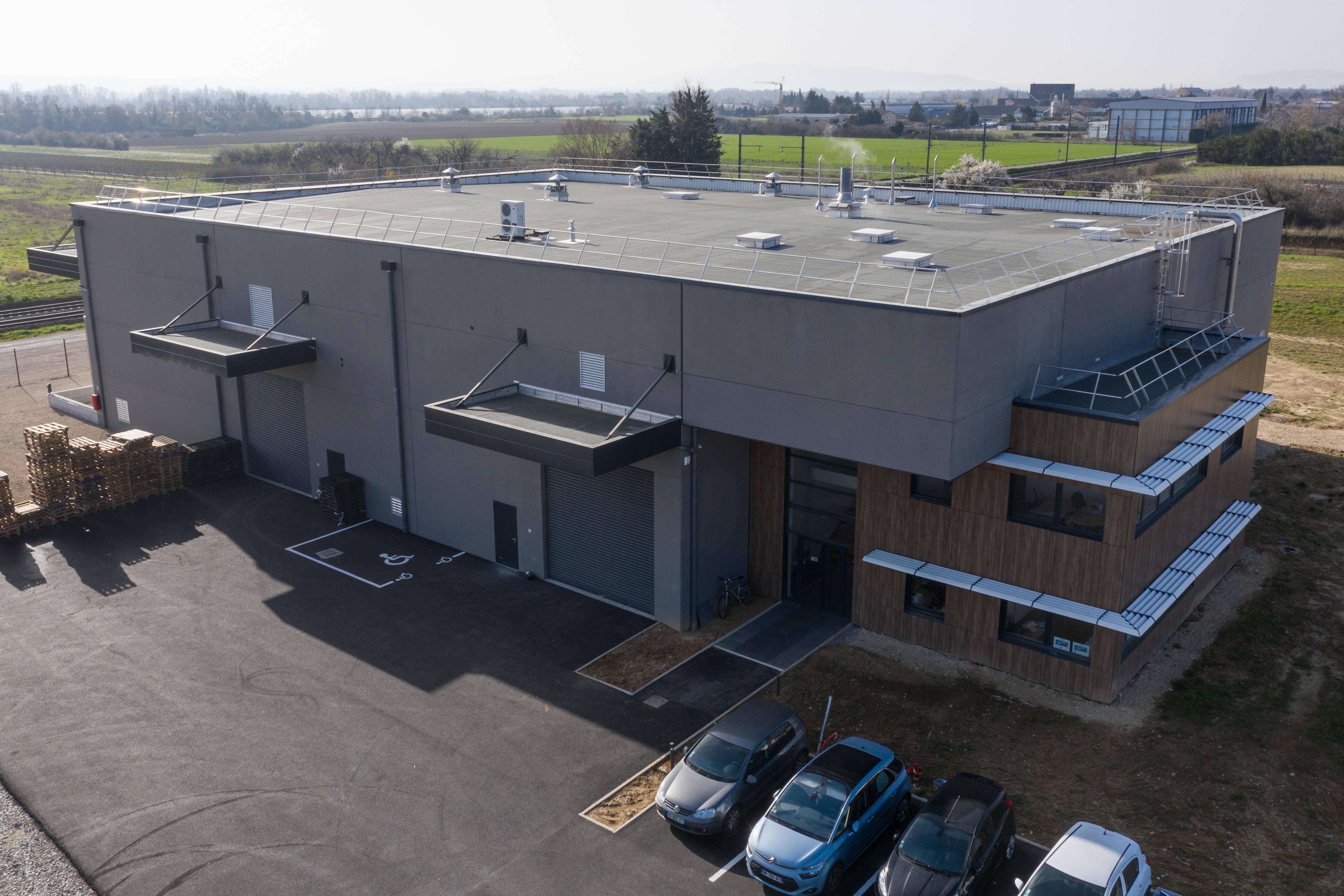 Actualité : Construction d'un bâtiment industriel à Soyons (07)