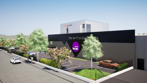 Photo de l'actualité  Futur complexe sportif de la « Cité de l'Escalade »