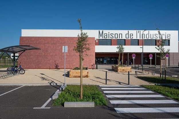 Photo de l'actualité Travaux de charpente et de bardage au CFAI de Valence